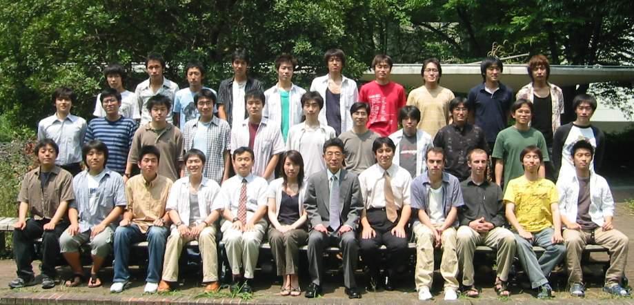 2006年度 北山研 メンバー紹介 集合写真はこちら スタッフ 官職 氏名 E-mail 内線